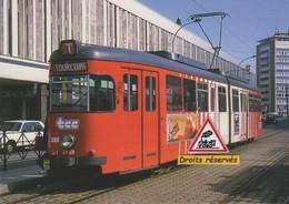 Rame Düwag Du Tramway ELRT, à Tourcoing (59) - - Tourcoing