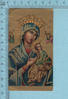 Quarta Roma - Gold Print, Icone De Marie Avec Jesus, Image Pieuse, Religieuse, Holy Card, Santini - Images Religieuses