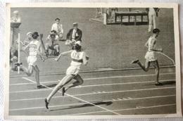 Foto Cromo Olimpiada De Los Ángeles. 1932. Nº 31. 110 Metros Erwin Wegner. Hecho En 1936 Para Olimpiada Berlín. Alemania - Tarjetas