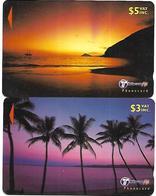 @+  Fiji - Lot De 2 Cartes GPT - 2000 - Fidji