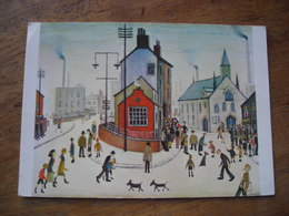 CPM Lowry A Street In Clitheroe - Paintings