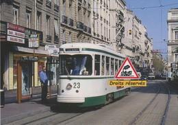 Rame PCC N°523 Du Tramway De Saint-Etienne (42) - - Tramways