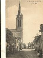 81 VILLEFRANCHE D'ALBIGEOIS -  Vue De L'église  197 - Villefranche D'Albigeois