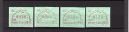 AUTOMATENMARKEN; Jahr Des Hasen/Year Of The Rabbit 02, 1987 Postfrisch - Hong Kong (1997-...)