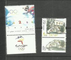 Israël N°1496, 1497 Neufs** Cote 4 Euros - Unused Stamps (with Tabs)