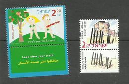Israël N°1504, 1513 Neufs** Cote 3.75 Euros - Unused Stamps (with Tabs)