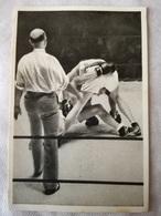 Foto Cromo Olimpiada De Los Ángeles. 1932. Nº 172. Boxeo, Welter, Campe, Jensen, Dinamarca. Hecho En 1936 Para Olimpiada - Tarjetas