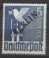 Berlin 20 ** Geprüft - Unused Stamps