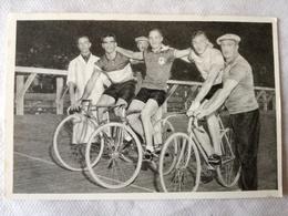 Foto Cromo Olimpiada De Los Ángeles. 1932. Nº 176. Ciclismo Pista, Egmond, Holanda, Louis Chaillot, Francia, Eruno Pelli - Tarjetas