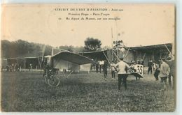 12084 - TROYES - CIRCUIT DE L EST D AVIATION / AOUT 1910 / UN DEPART DE MAMET - Troyes