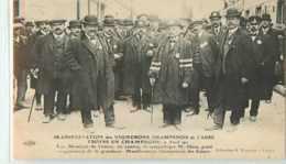 22987 - TROYES - MANIFESTATION DES VIGNERONS / AVRIL 1911 / LES MEMBRES DU COMITE - Troyes