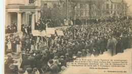 22993 - TROYES - MANIFESTATION DES VIGNERONS / AVRIL 1911 / DEFILE DES MANIFESTANTS - Troyes