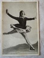 Foto Cromo Olimpiada De Los Ángeles. 1932. Nº 189. Patinaje Artístico, Sonja Henie, Noruega. Hecho En 1936 - Tarjetas