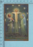CND Montreal - Gold Print, Santa Familia La Sainte Famille  -  Image Pieuse, Religieuse, Holy Card, Santini - Images Religieuses
