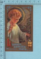 Sault Montreal - Gold Print, Lumen Semitis Meis, Lumiere Sur Mon Chemin  -  Image Pieuse, Religieuse, Holy Card, Santini - Images Religieuses