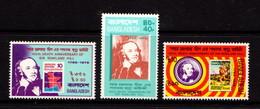 BANGLADESH    1979    Death  Centenary  Of  Sir  Rowland  Hill    Set  Of  3        MNH - Bangladesh
