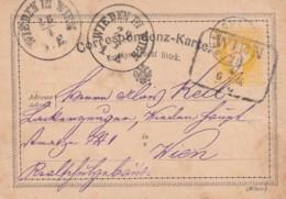 Österreich Postkarte 1876 - Briefe U. Dokumente