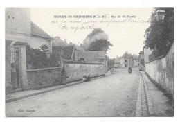 (23012-77) Bussy Saint Georges - Rue De Saint Martin - France