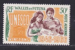 WALLIS ET FUTUNA AERIENS N°   28 ** MNH Neuf Sans Charnière, TB (D8460) Anniversaire U.N.E.S.C.O. -1966 - Nuevos