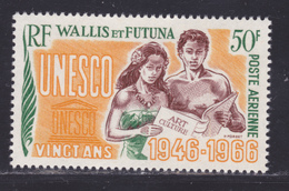 WALLIS ET FUTUNA AERIENS N°   28 ** MNH Neuf Sans Charnière, TB (D8460) Anniversaire U.N.E.S.C.O. -1966 - Poste Aérienne
