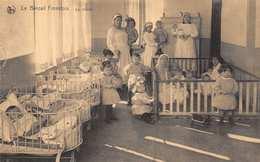 BG07 Belgium, Brussels, Postcard, Le Bercail Forestois, Day Nursery, Babies, Cribs, Beds. - Belgium
