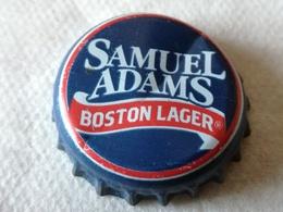 Chapa Kronkorken Cap Tappi Cerveza Samuel Adams, Boston, Cataratas Idaho. Estados Unidos De América. USA. 2000 - Cerveza