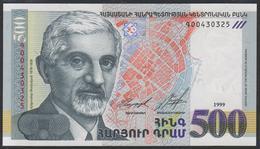 Armenia 500 Dram 1999 P44 UNC - Arménie