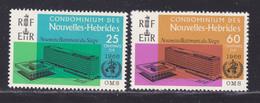 NOUVELLES-HEBRIDES N°  245 & 246 ** MNH Neufs Sans Charnière, TB (D8463) Organistion Mondiale De La Santé -1966 - Französische Legende