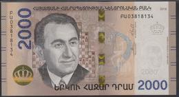 Armenia 2000 Dram 2018 Pnew UNC - Arménie