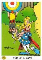 Astérix Série Complète 25 Autocollants La Vache Qui Rit 1992 Jeux Olympiques Tir à L'arc Ping Pong Tennis Judo Aviron .. - Chromos