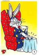 Magie Bugs Bunny Série Complète 20 Images La Vache Qui Rit Fromagerie Bel 1992 Warner - Vieux Papiers