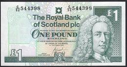 Scotland 1 Pound 2001 P351e UNC  Royal Bank Of Scotland - [ 3] Escocia