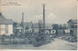 84-Gare Sourbrodt -Arrivée D'un Train D'Artillerie - Stazioni Con Treni
