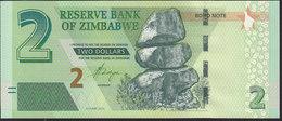 Zimbabwe 2 Dollar 2016 P99 UNC - Zimbabwe