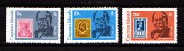 CAYMAN  ISLANDS   1979    Death  Centenary  Of  Sir  Rowland  Hill   Set  Of  3       MNH - Cayman Islands