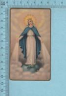 USA 805- Gold Print, Vierge Marie écrasant Le Serpent  -  Image Pieuse, Religieuse, Holy Card, Santini - Images Religieuses