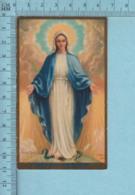 Canada CSH  - Gold Print, Mater Graciae, Mère De Grace + Sacerdoce 1942 -  Image Pieuse, Religieuse, Holy Card, Santini - Images Religieuses