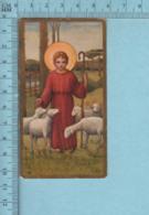 Switzland K63  - Gold Print, Jesus Enfant En Berger -  Image Pieuse, Religieuse, Holy Card, Santini - Images Religieuses