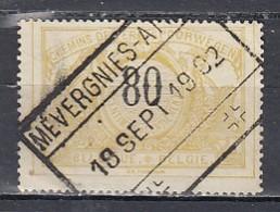 Tr 24 Gestempeld Mevergnies-Attre - 1895-1913