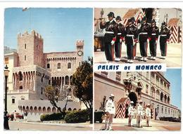 Francia Montecarlo Palais De Monaco 3 Vedute Non Viaggiata Condizioni Come Da Scansione - Altri