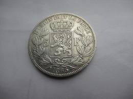 Belgique 5 Frank 1865 Dot After F - 1831-1865: Leopold I