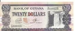 GUYANE 20 DOLLARS ND2016 UNC P 30 F - Guyana