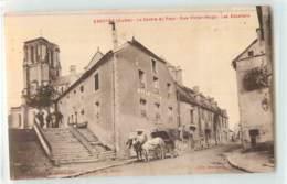 38169 - ESSOYES - LE CENTRE DU PAYS RUE VICTOR HUGO LES ESCALIERS - France