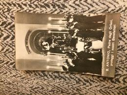 Ricordo Del Santuario Di Sant'Antonio Messina  - Antico Santino Cromolitografico Fine Ottocento Primi Novecento - Images Religieuses