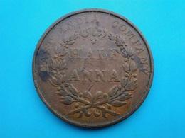 INDE   1/2  Anna   1835 - Indien