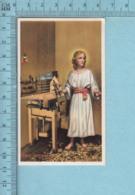 Lib. Canadienne - Gold Print, Jesus Artisan -  Image Pieuse, Religieuse, Holy Card, Santini - Images Religieuses