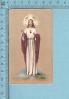 AR J!R 19 - Sacré Coeur De Jesus -  Image Pieuse, Religieuse, Holy Card, Santini - Images Religieuses