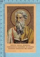 Abbazia Roma - Gold Print, Icone Sancte Paule Apostole -  Image Pieuse, Religieuse, Holy Card, Santini - Images Religieuses