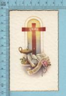 NB 5063 - Gold Print, Lanterne Croix INRI 25 Ad Multos Annos -  Image Pieuse, Religieuse, Holy Card, Santini - Images Religieuses