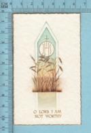 NB 5077 - Gold Print,Ostie JHS -  Image Pieuse, Religieuse, Holy Card, Santini - Images Religieuses